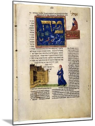 Fol.79V from 'The Rothschild Miscellany', Northern Italy, C.1450-80--Mounted Giclee Print