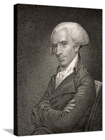 Elbridge Gerry, Engraved by James Barton Longacre (1794-1869)-John Vanderlyn-Stretched Canvas Print