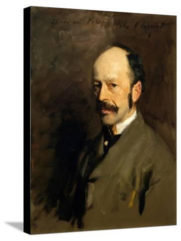 Portrait of Gustav Natorp, C.1883-84-John Singer Sargent-Stretched Canvas Print