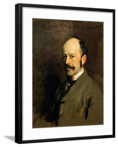 Portrait of Gustav Natorp, C.1883-84-John Singer Sargent-Framed Art Print