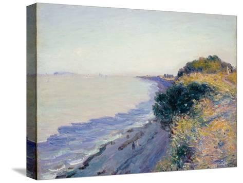 Bristol Channel, Evening, 1897-Alfred Sisley-Stretched Canvas Print