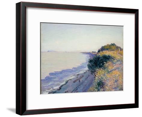Bristol Channel, Evening, 1897-Alfred Sisley-Framed Art Print