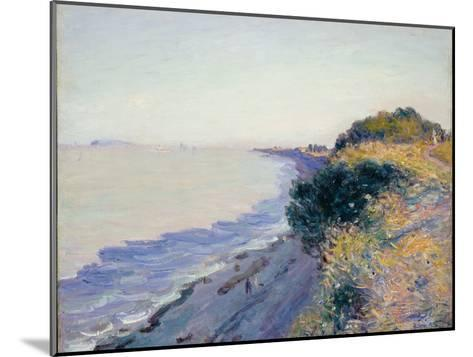 Bristol Channel, Evening, 1897-Alfred Sisley-Mounted Giclee Print