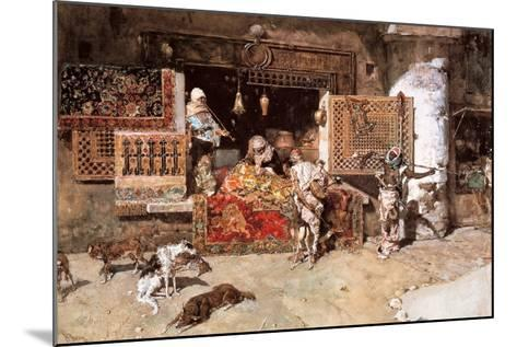 The Tapestry Merchant, 1870-Mariano Fortuny y Marsal-Mounted Giclee Print