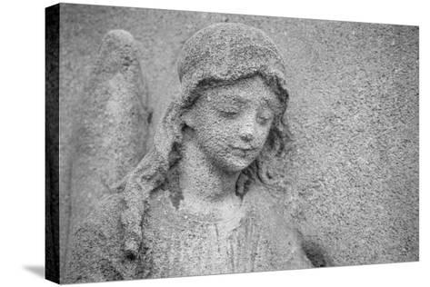 Head of an Angel-French School-Stretched Canvas Print