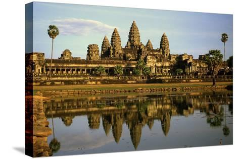 Angkor Wat Temple, Cambodia--Stretched Canvas Print