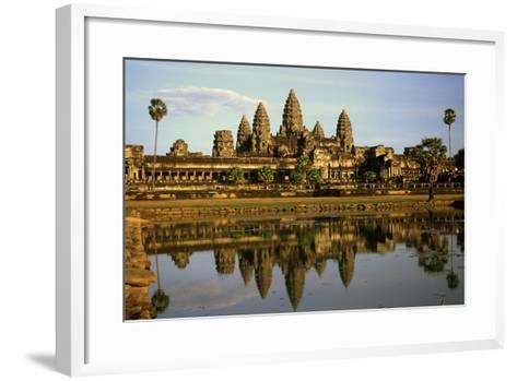 Angkor Wat Temple, Cambodia--Framed Art Print