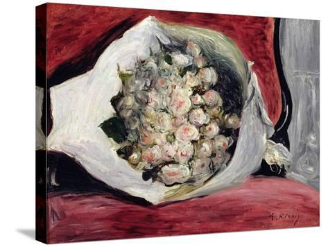 Bouquet in a Theatre Box, C.1878-80-Pierre-Auguste Renoir-Stretched Canvas Print