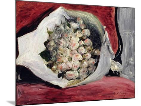 Bouquet in a Theatre Box, C.1878-80-Pierre-Auguste Renoir-Mounted Giclee Print
