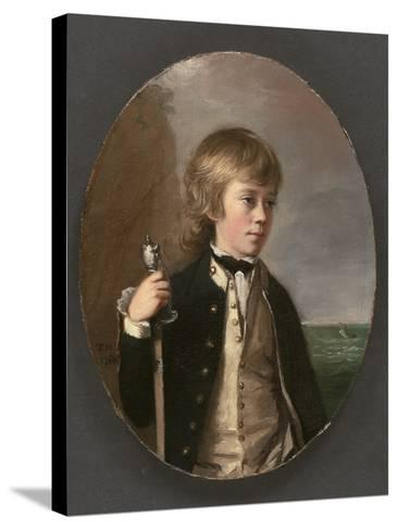 Portrait of Sir Henry William Bayntun, 1780-Thomas Hickey-Stretched Canvas Print
