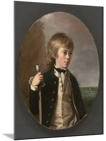 Portrait of Sir Henry William Bayntun, 1780-Thomas Hickey-Mounted Giclee Print