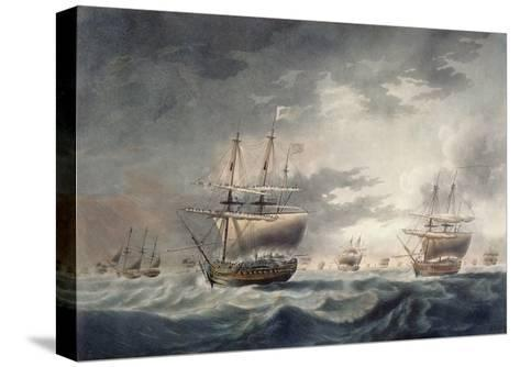 A Storm Coming On, Engraved by Francis Jukes (1747-1812) Published in 1795-Robert Dodd-Stretched Canvas Print