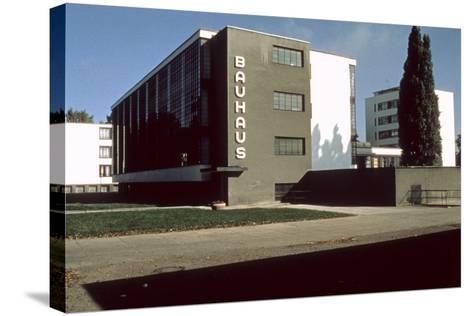 Bauhaus Workshop, Dessau--Stretched Canvas Print