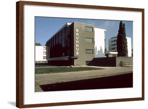 Bauhaus Workshop, Dessau--Framed Art Print