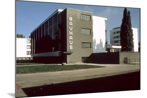 Bauhaus Workshop, Dessau--Mounted Photographic Print