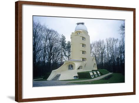 The Einstein Tower, Potsdam, 1921--Framed Art Print