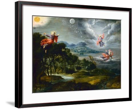 The Creation of Heaven, Earth and Water-Willem Van The Elder Herp-Framed Art Print