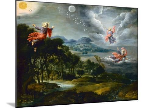 The Creation of Heaven, Earth and Water-Willem Van The Elder Herp-Mounted Giclee Print