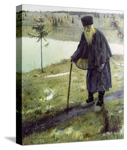 The Hermit-Mikhail Vasilievich Nesterov-Stretched Canvas Print