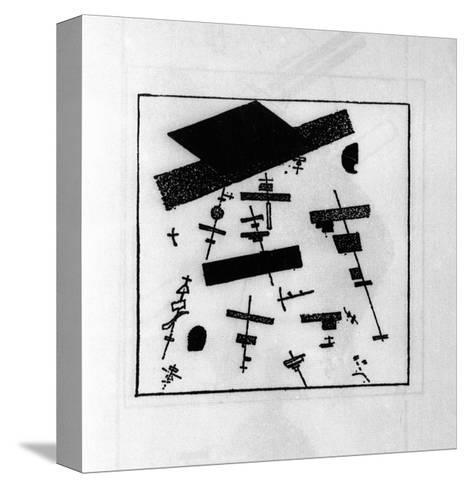 Suprematist Drawing-Kasimir Malevich-Stretched Canvas Print