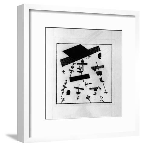 Suprematist Drawing-Kasimir Malevich-Framed Art Print