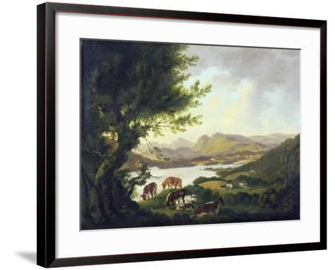 Lake Windemere-Julius Caesar Ibbetson-Framed Art Print