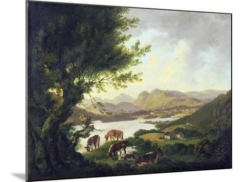 Lake Windemere-Julius Caesar Ibbetson-Mounted Giclee Print