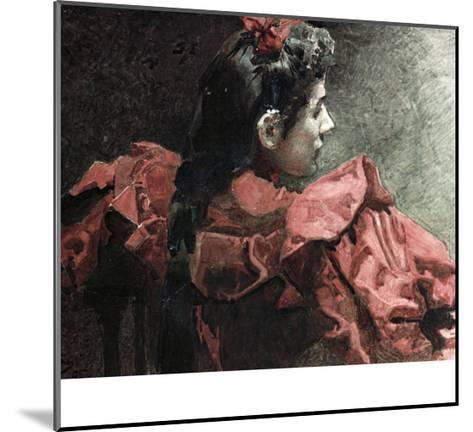 The Woman in Red, 1895-Mikhail Aleksandrovich Vrubel-Mounted Giclee Print