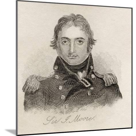 Sir John Moore, from 'Crabb's Historical Dictionary', Published 1825--Mounted Giclee Print