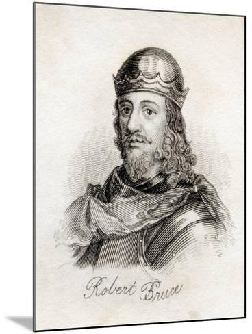 Robert the Bruce, from 'Crabb's Historical Dictionary', Published 1825--Mounted Giclee Print