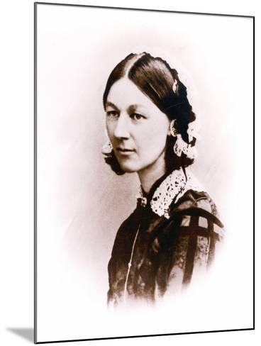 Carte De Visite Photograph of Florence Nightingale, by H. Lenthall, C.1856--Mounted Photographic Print