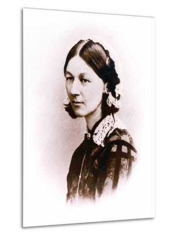 Carte De Visite Photograph of Florence Nightingale, by H. Lenthall, C.1856--Metal Print