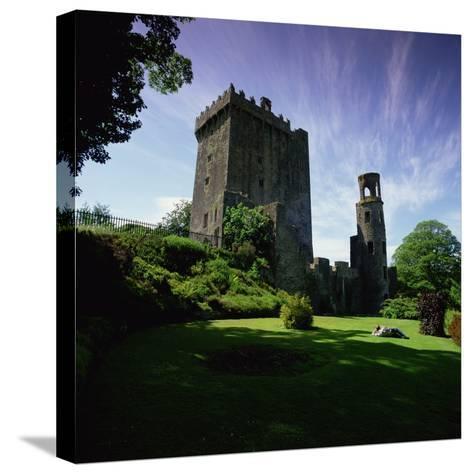 Blarney Castle, Near Cork--Stretched Canvas Print