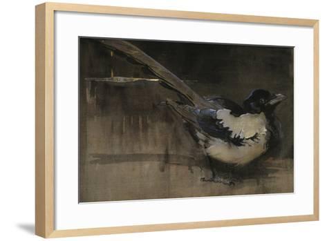 The Magpie-Joseph Crawhall-Framed Art Print
