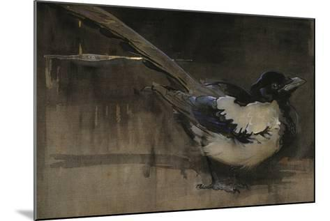 The Magpie-Joseph Crawhall-Mounted Giclee Print