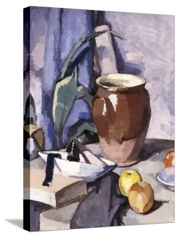 The Brown Crock-Samuel John Peploe-Stretched Canvas Print
