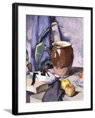 The Brown Crock-Samuel John Peploe-Framed Art Print