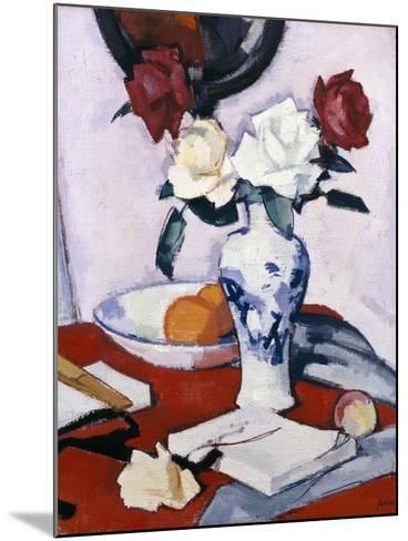 Roses-Samuel John Peploe-Mounted Giclee Print