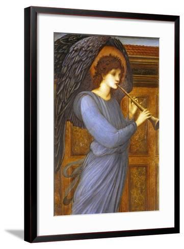 The Angel-Edward Burne-Jones-Framed Art Print