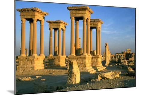 The Tetrapylon on the Colonnaded Central Street--Mounted Photographic Print