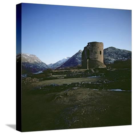 Dolbadarn Castle--Stretched Canvas Print
