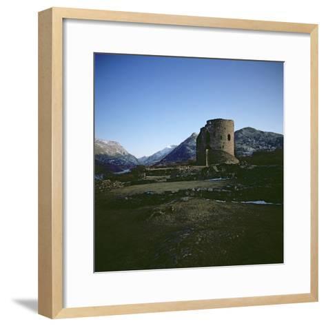 Dolbadarn Castle--Framed Art Print
