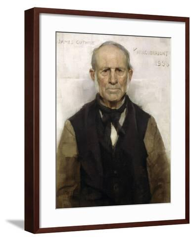 Old Willie - the Village Worthy, 1886-Sir James Guthrie-Framed Art Print