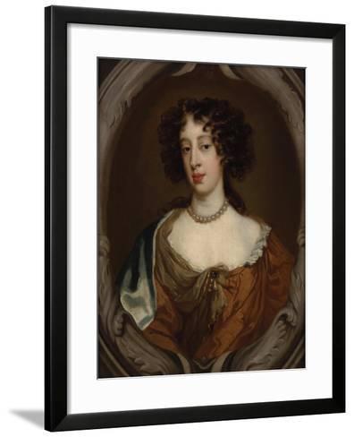 Portrait of Mary of Modena, Duchess of York-Sir Peter Lely-Framed Art Print