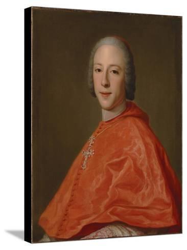 Portrait of Prince Henry, Cardinal York-Domenico Corvi-Stretched Canvas Print