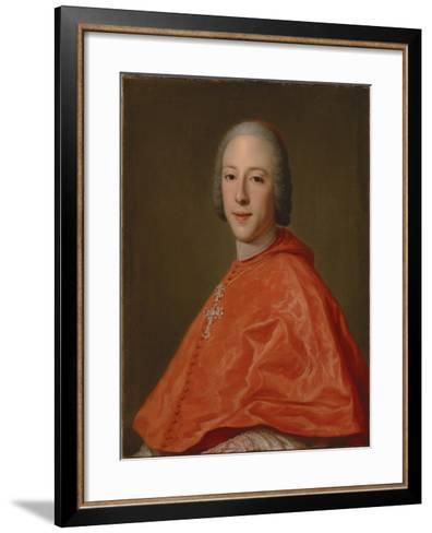 Portrait of Prince Henry, Cardinal York-Domenico Corvi-Framed Art Print