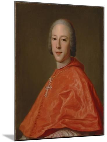 Portrait of Prince Henry, Cardinal York-Domenico Corvi-Mounted Giclee Print