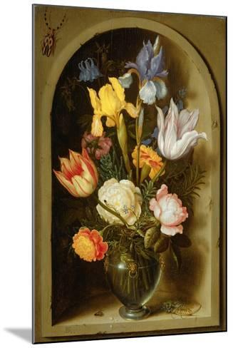 Still Life with Flowers and Insects-Ambrosius The Elder Bosschaert-Mounted Giclee Print