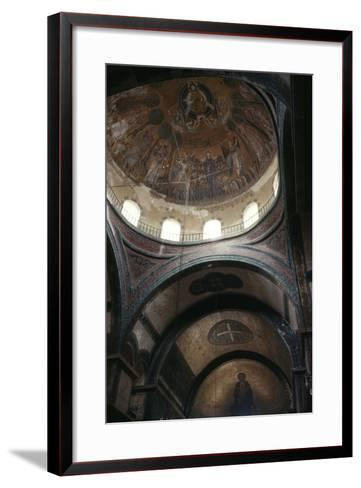 Dome and Apse, Church of Hagia Sophia--Framed Art Print