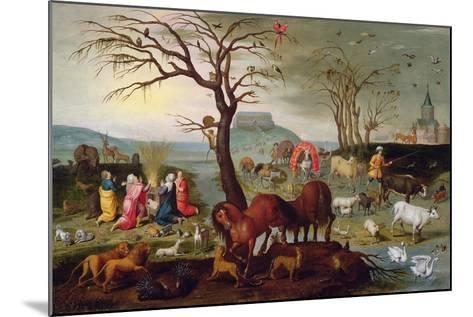 The Sacrifice of Noah-Jacob Bouttats-Mounted Giclee Print